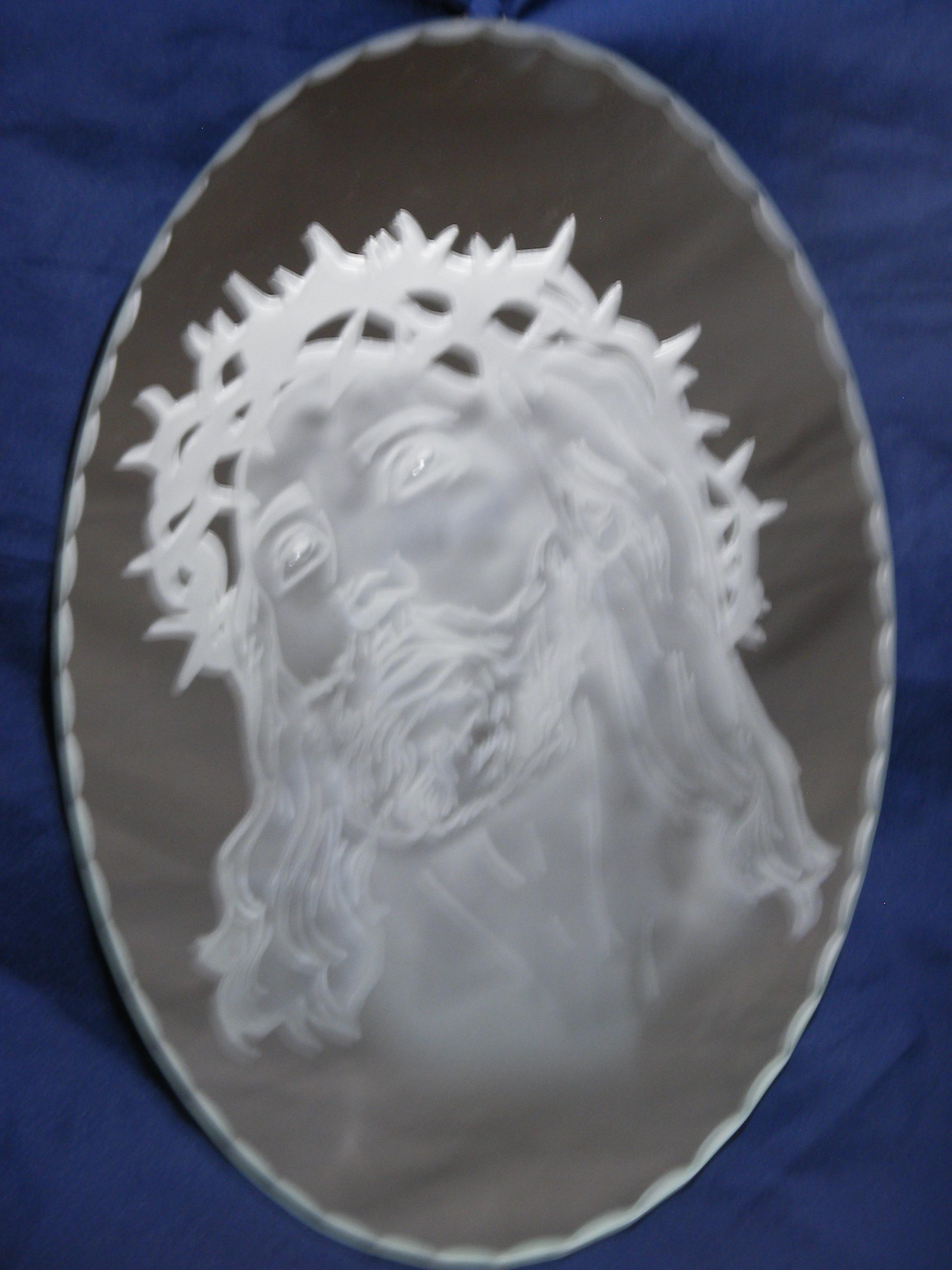 Tableau Christ 30x21cm