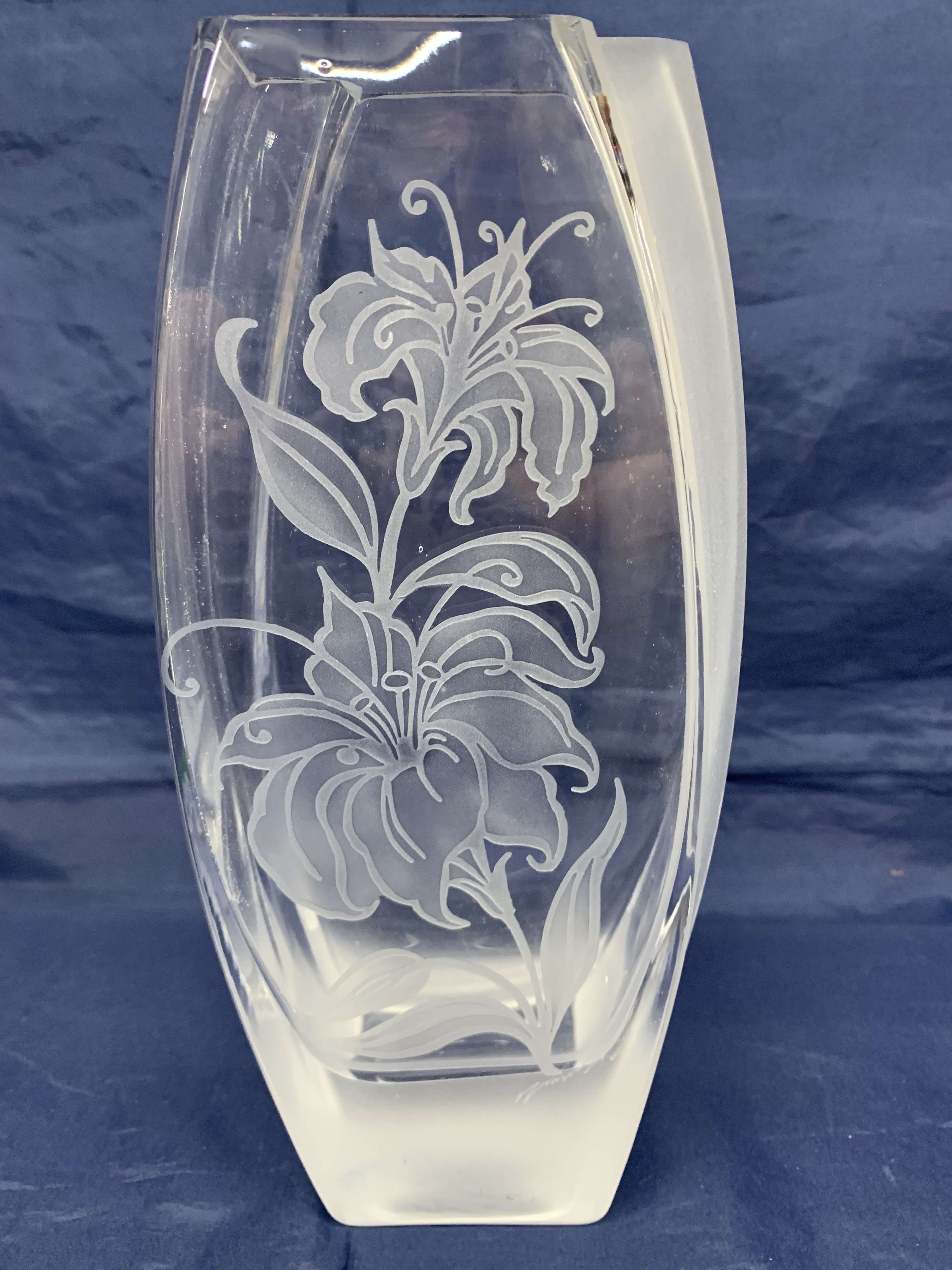 Vase escalier Lys