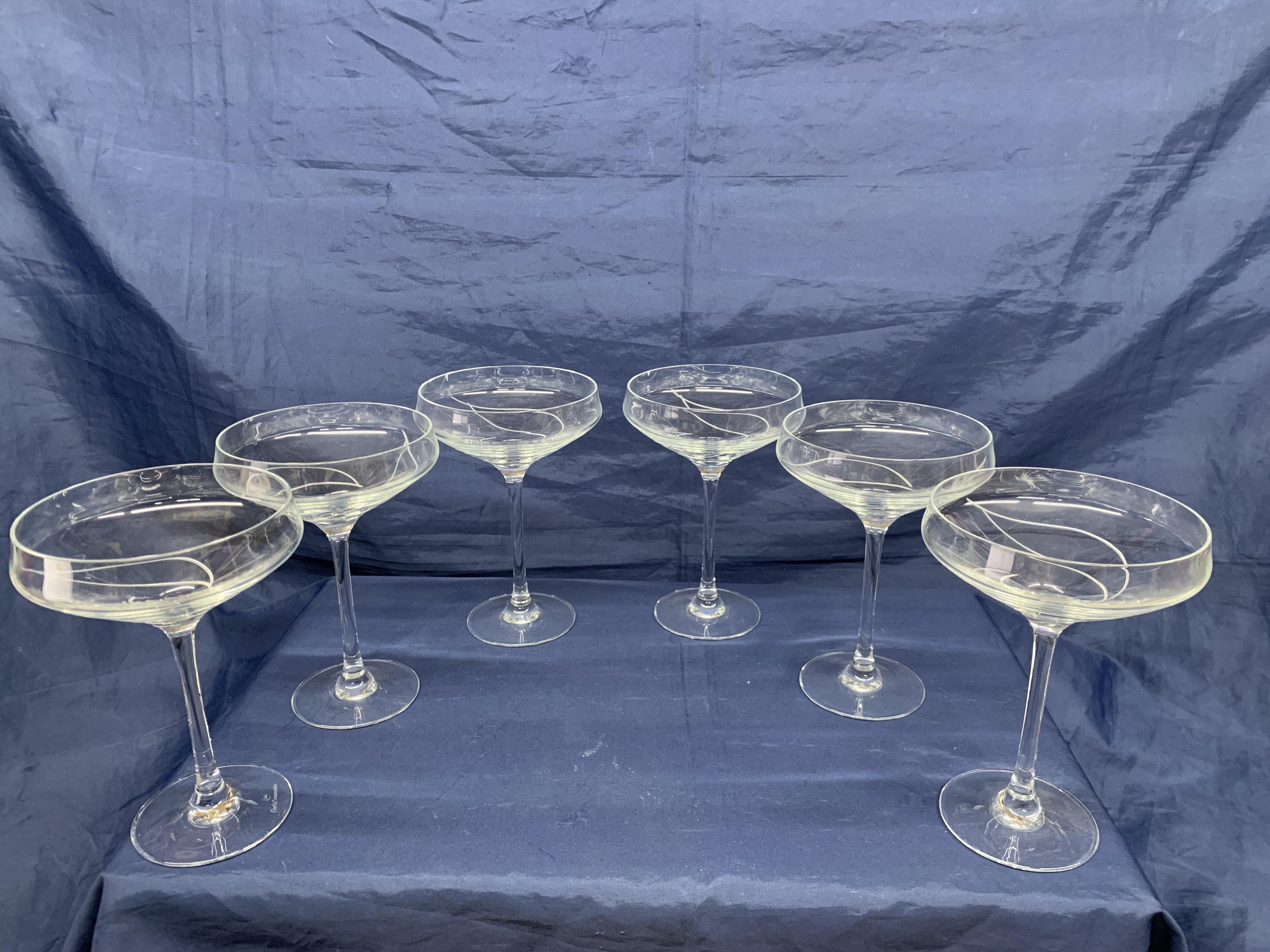 Coupes à Champagne Romance